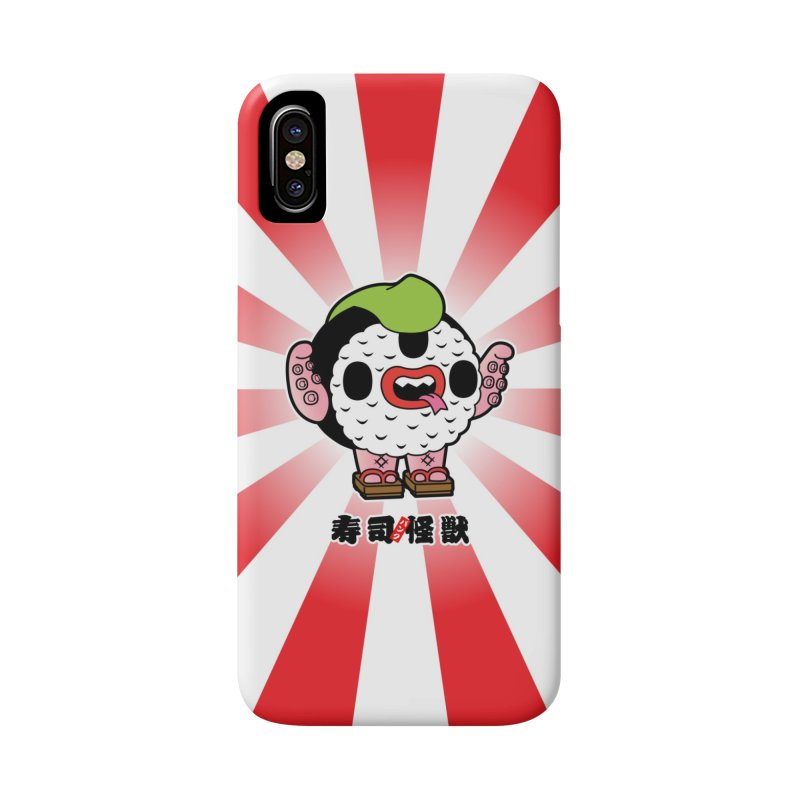 Sushi Kaiju Accessories Phone Case by Paul Shih