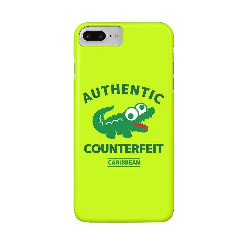 LACROCS - AUTHENTIC COUNTERFEIT Accessories Phone Case by Paul Shih