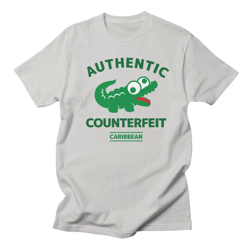 LACROCS - AUTHENTIC COUNTERFEIT Men's T-Shirt by Paul Shih