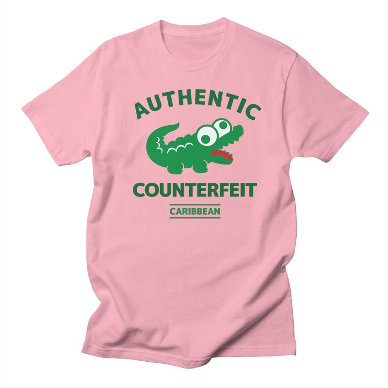 LACROCS - AUTHENTIC COUNTERFEIT Men's T-shirt by Paul Shih