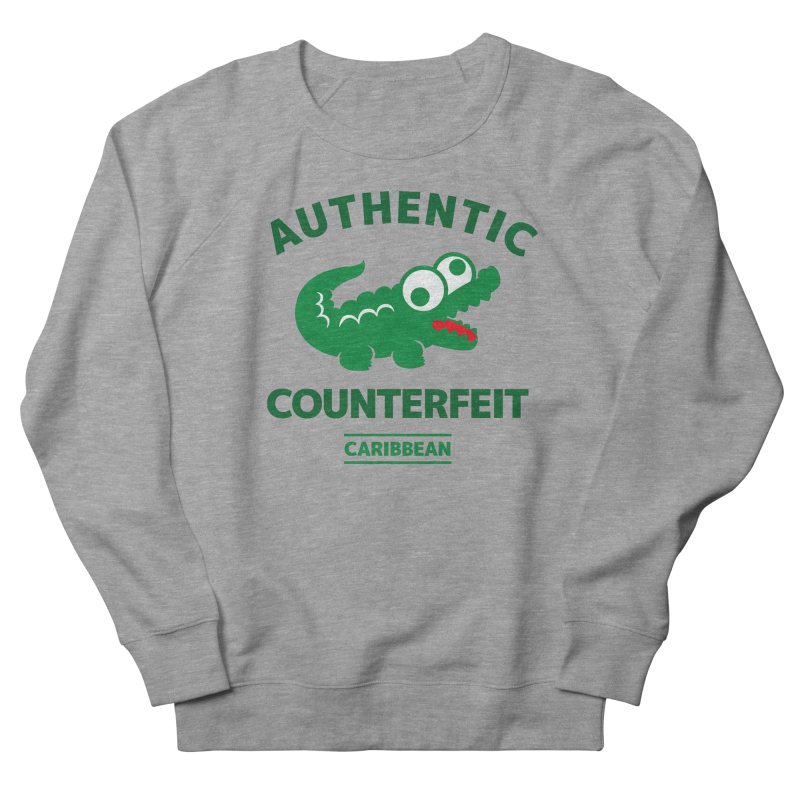 LACROCS - AUTHENTIC COUNTERFEIT Women's Sweatshirt by Paul Shih