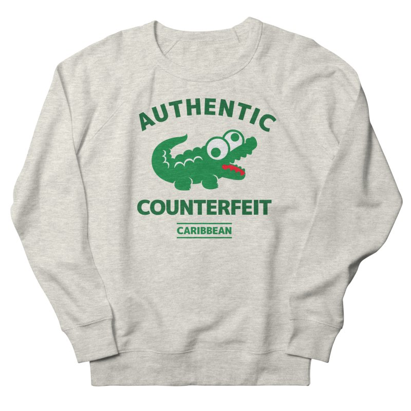 LACROCS - AUTHENTIC COUNTERFEIT Men's Sweatshirt by Paul Shih