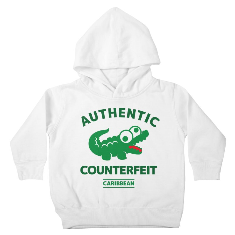 LACROCS - AUTHENTIC COUNTERFEIT Kids Toddler Pullover Hoody by Paul Shih
