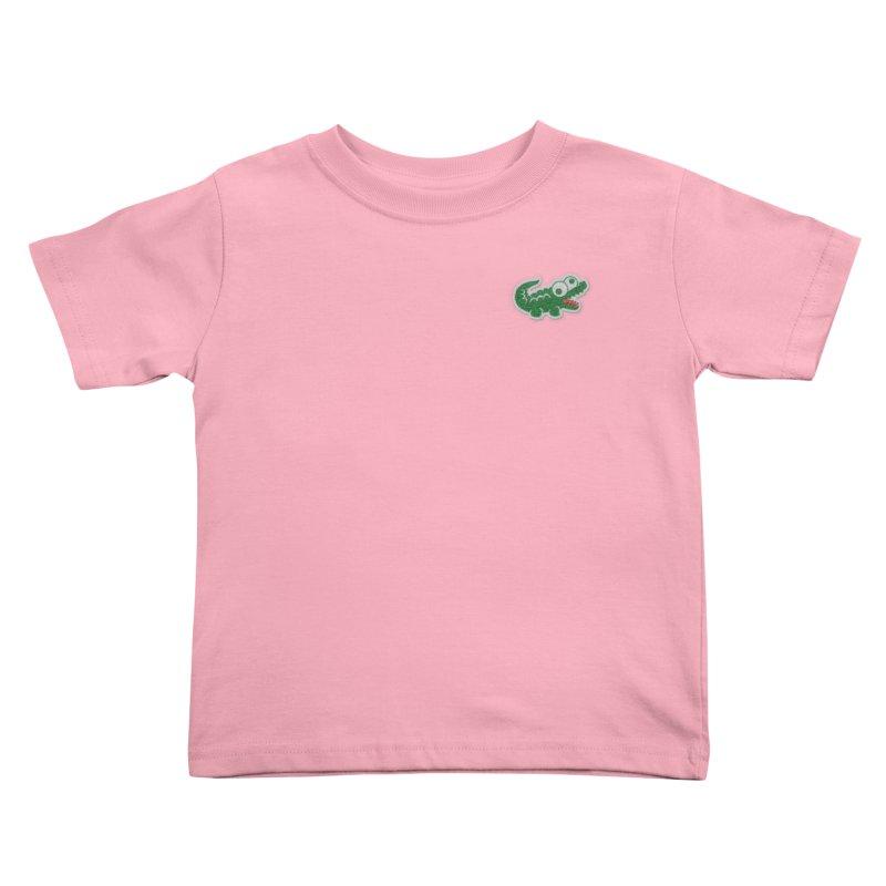 LACROCS Kids Toddler T-Shirt by Paul Shih