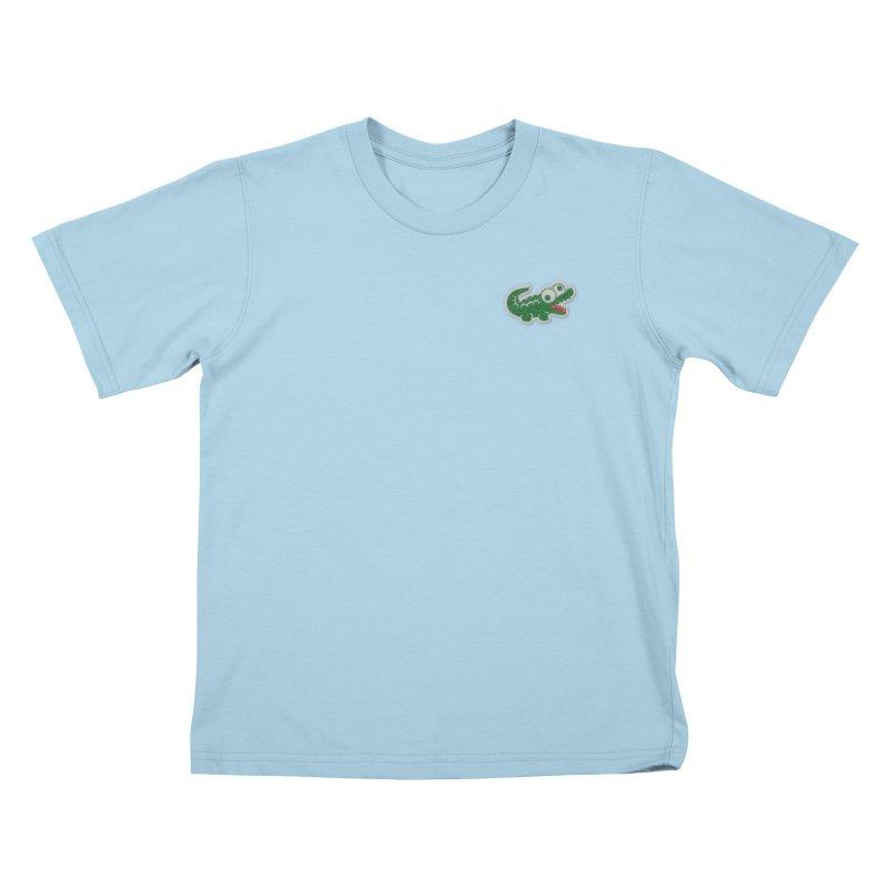 LACROCS Kids T-Shirt by Paul Shih