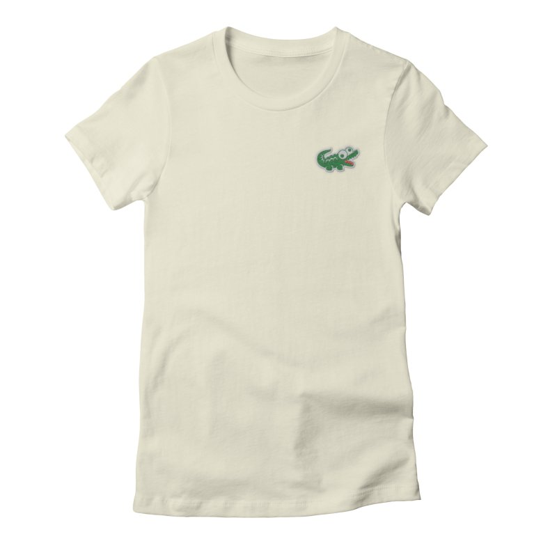 LACROCS Women's Fitted T-Shirt by Paul Shih