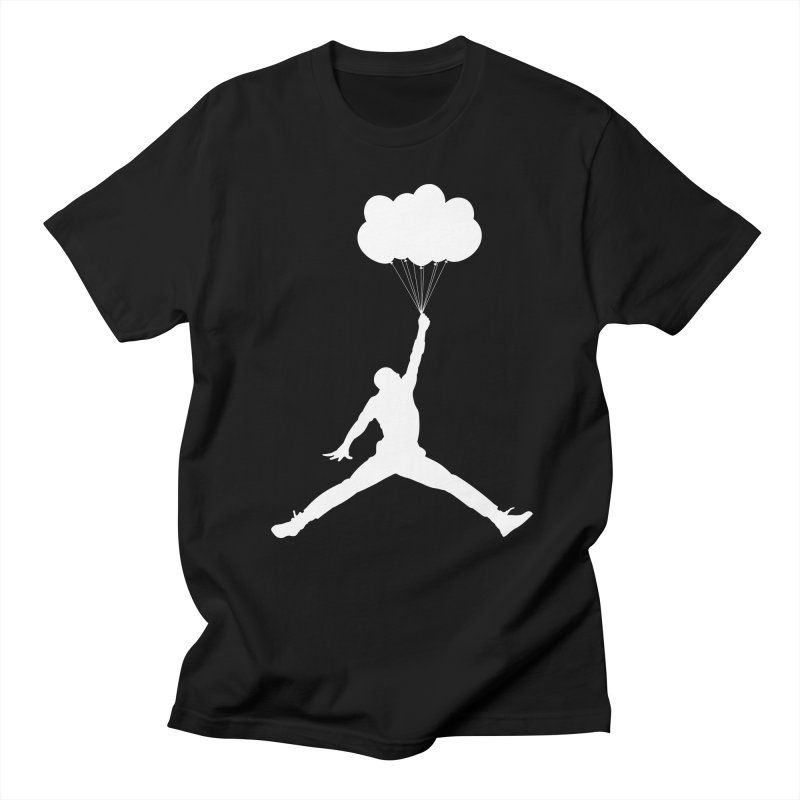 AIR MICHAEL in Men's T-shirt Black by Paul Shih