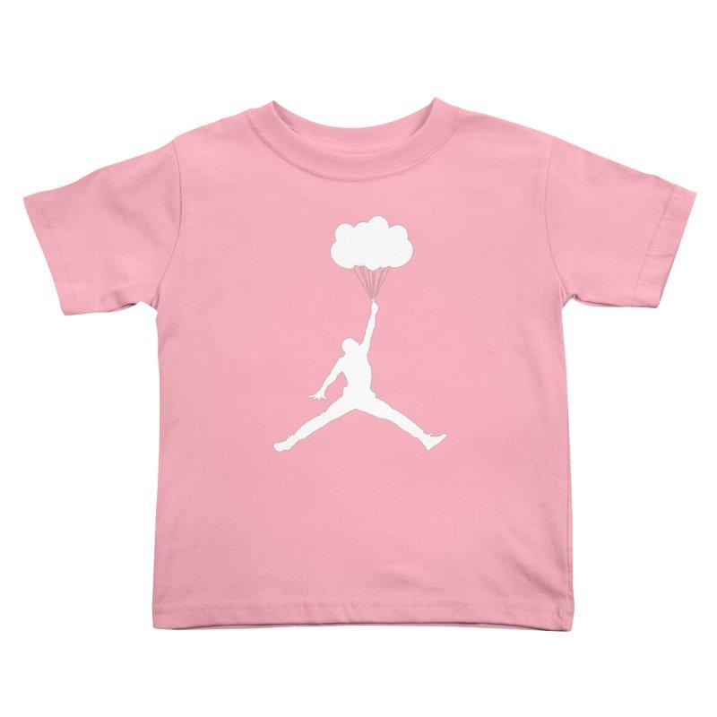 AIR MICHAEL Kids Toddler T-Shirt by Paul Shih