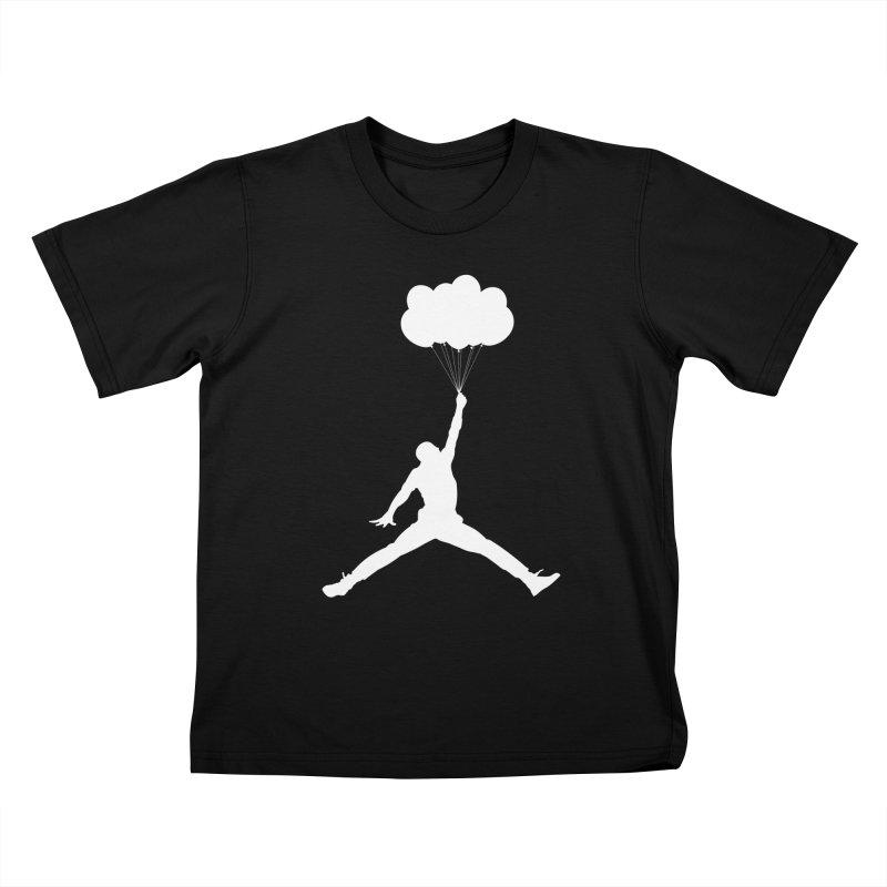 AIR MICHAEL Kids T-Shirt by Paul Shih