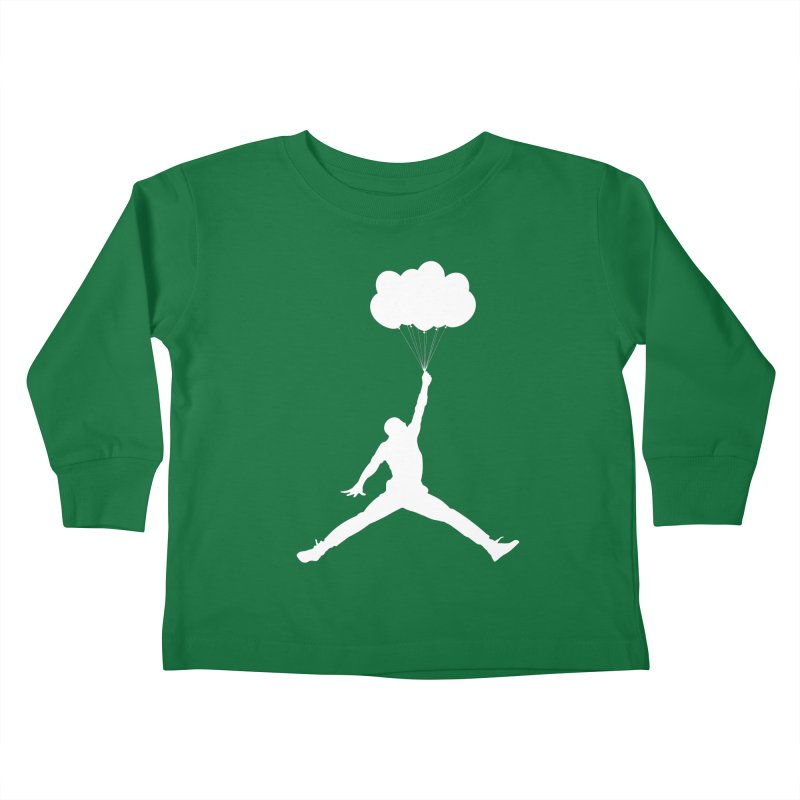 AIR MICHAEL Kids Toddler Longsleeve T-Shirt by Paul Shih