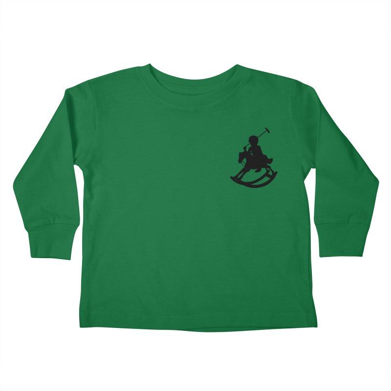 Kid Ralph Kids Toddler Longsleeve T-Shirt by Paul Shih