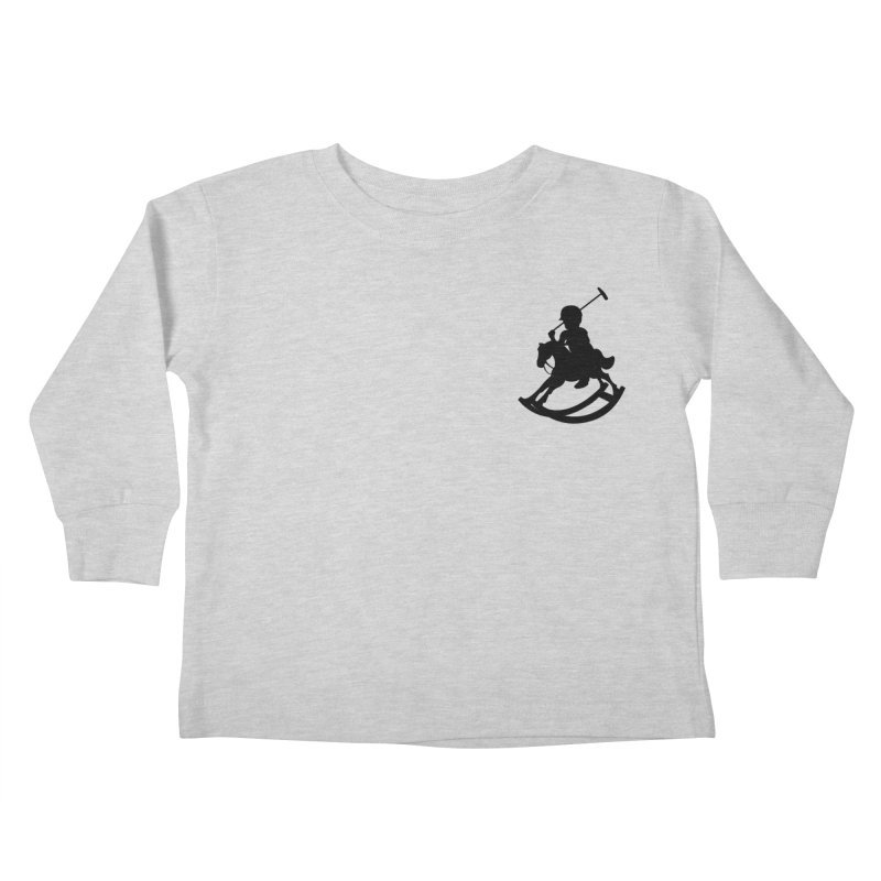 Kid Ralph Kids Toddler Longsleeve T-Shirt by Paul Shih
