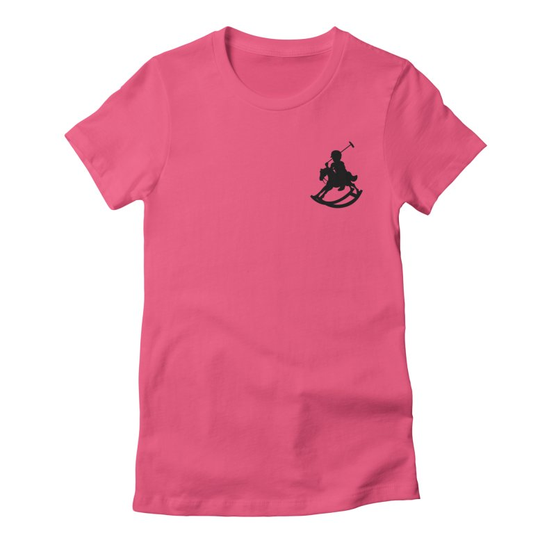 Kid Ralph Women's Fitted T-Shirt by Paul Shih
