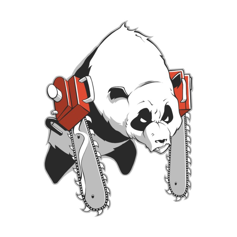 Chainsaw Panda by pause's Artist Shop