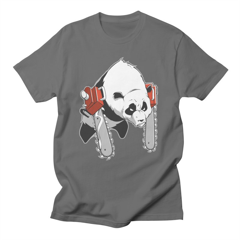 Chainsaw Panda Men's T-Shirt by pause's Artist Shop