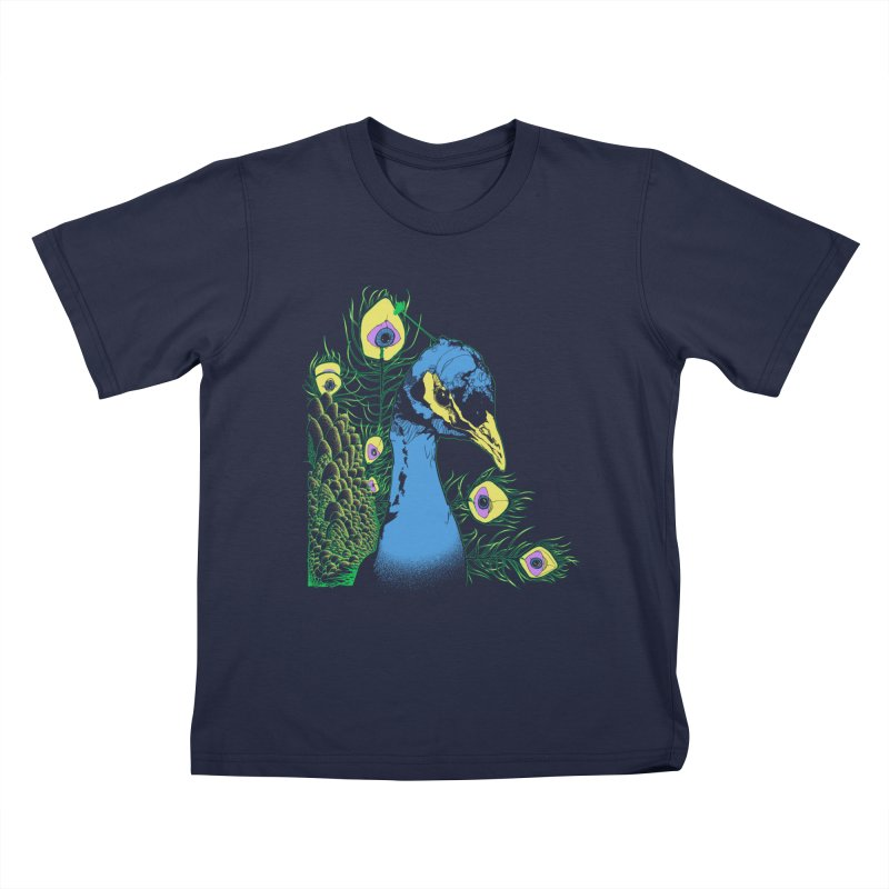 Fruit of the Plume Kids T-shirt by pause's Artist Shop
