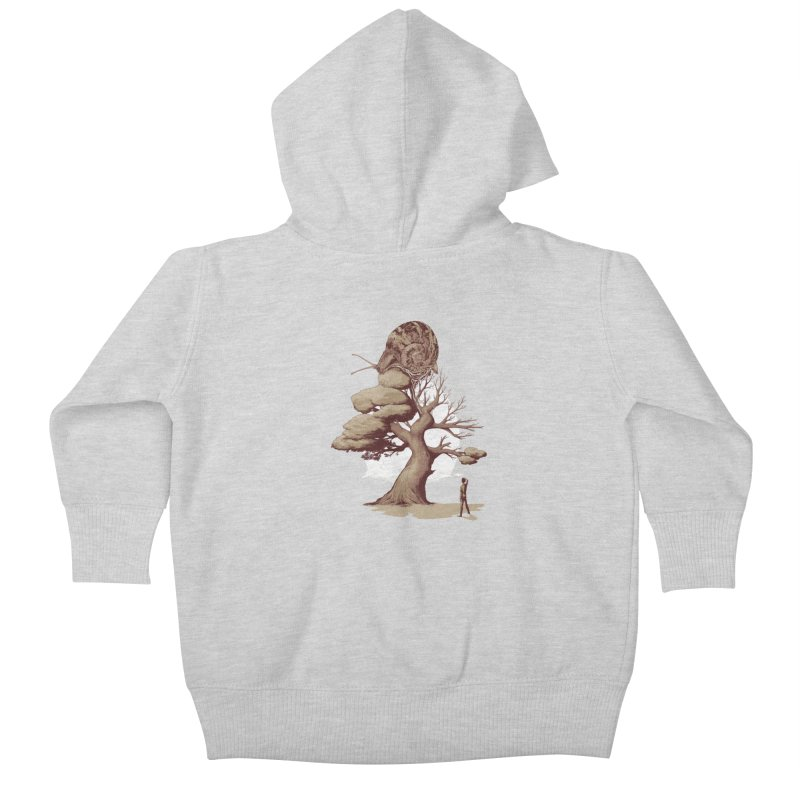The Day After You Die Kids Baby Zip-Up Hoody by pause's Artist Shop