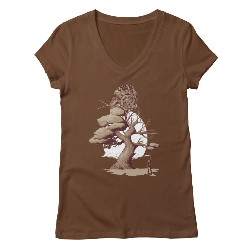 The Day After You Die Women's V-Neck by pause's Artist Shop