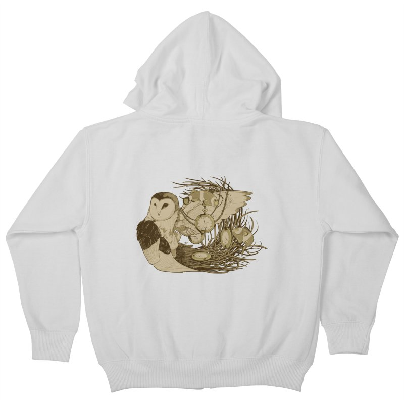 Hootie and the Clownfish Kids Zip-Up Hoody by pause's Artist Shop