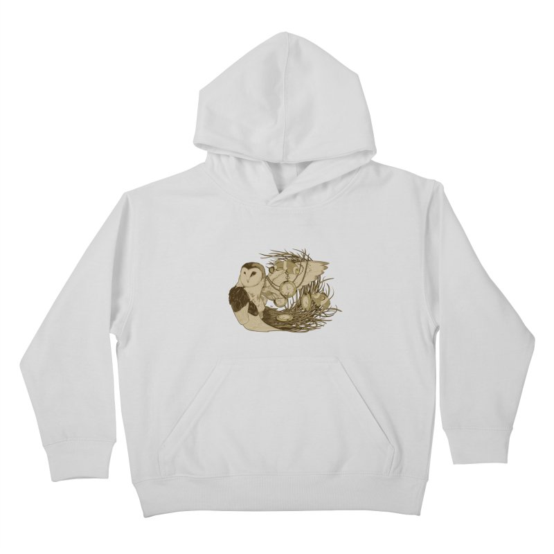 Hootie and the Clownfish Kids Pullover Hoody by pause's Artist Shop