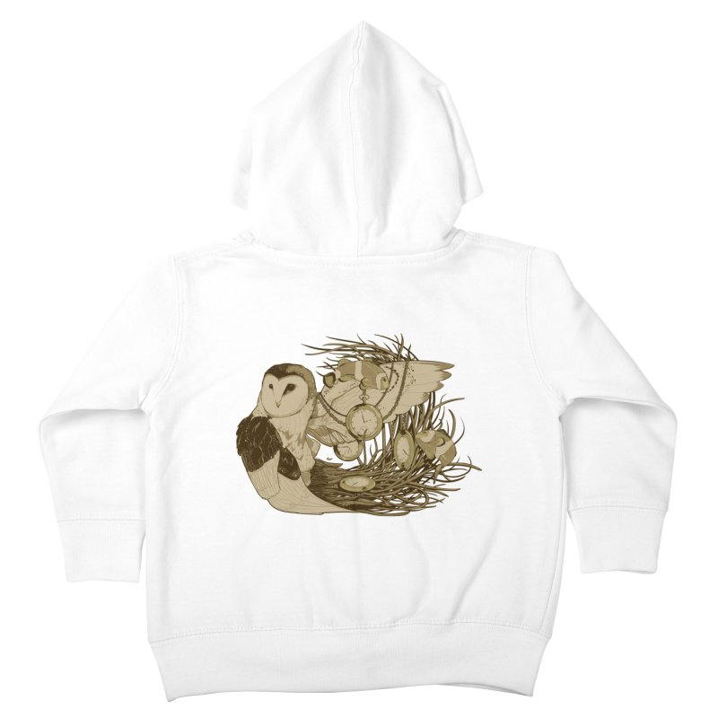 Hootie and the Clownfish Kids Toddler Zip-Up Hoody by pause's Artist Shop