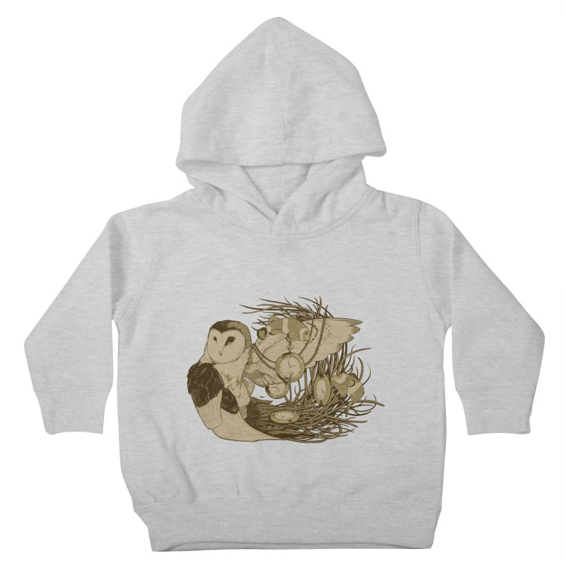Hootie and the Clownfish Kids Toddler Pullover Hoody by pause's Artist Shop