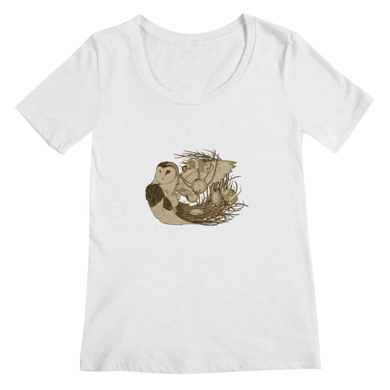 Hootie and the Clownfish Women's Scoopneck by pause's Artist Shop