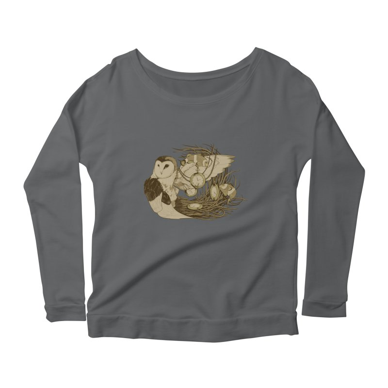 Hootie and the Clownfish Women's Longsleeve Scoopneck  by pause's Artist Shop