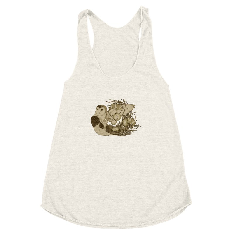 Hootie and the Clownfish Women's Racerback Triblend Tank by pause's Artist Shop