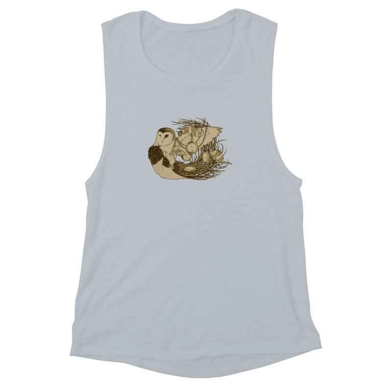 Hootie and the Clownfish Women's Muscle Tank by pause's Artist Shop