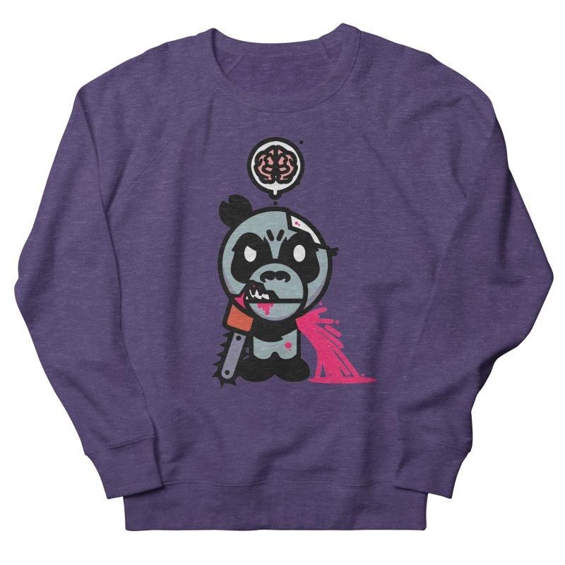 Chainsaw Panda Zombie Men's Sweatshirt by pause's Artist Shop