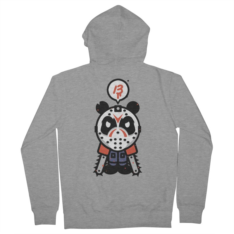 Chainsaw Panda Slasher Men's Zip-Up Hoody by pause's Artist Shop