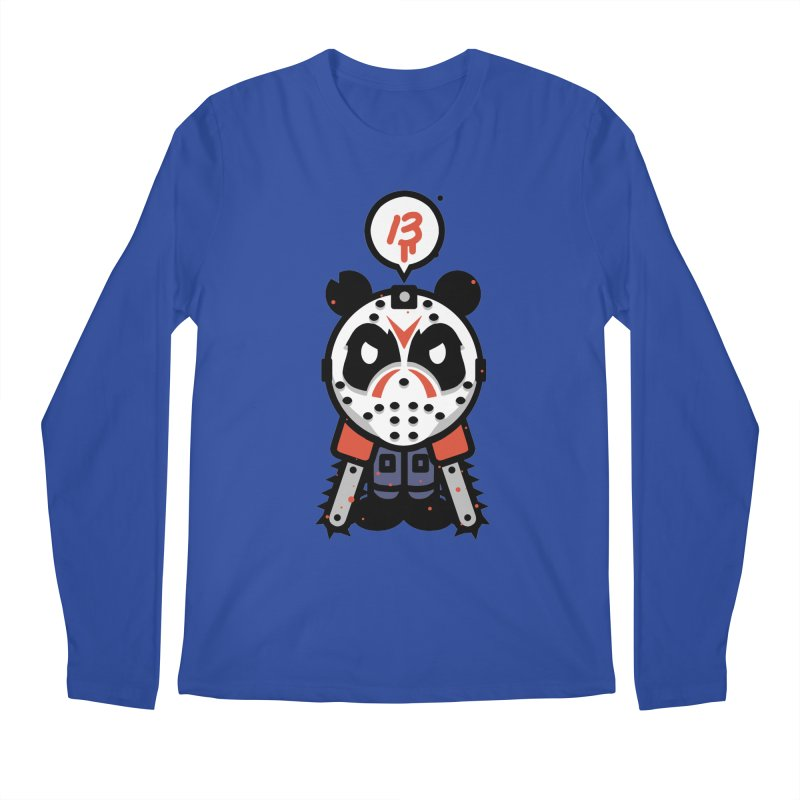 Chainsaw Panda Slasher Men's Longsleeve T-Shirt by pause's Artist Shop