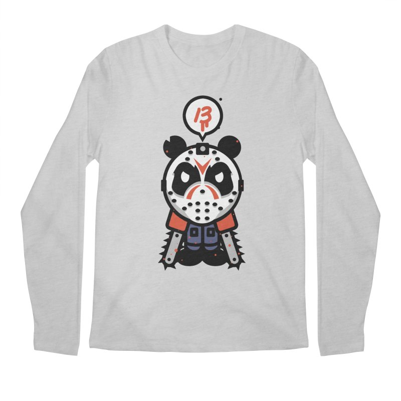 Chainsaw Panda Slasher Men's Longsleeve T-Shirt by pause's Artist Shop