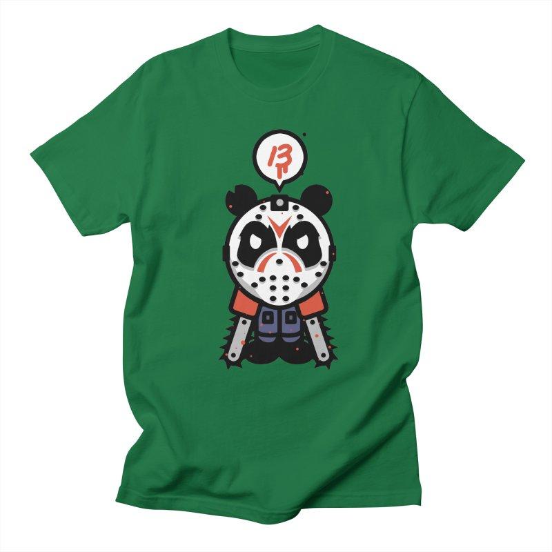 Chainsaw Panda Slasher Men's T-Shirt by pause's Artist Shop