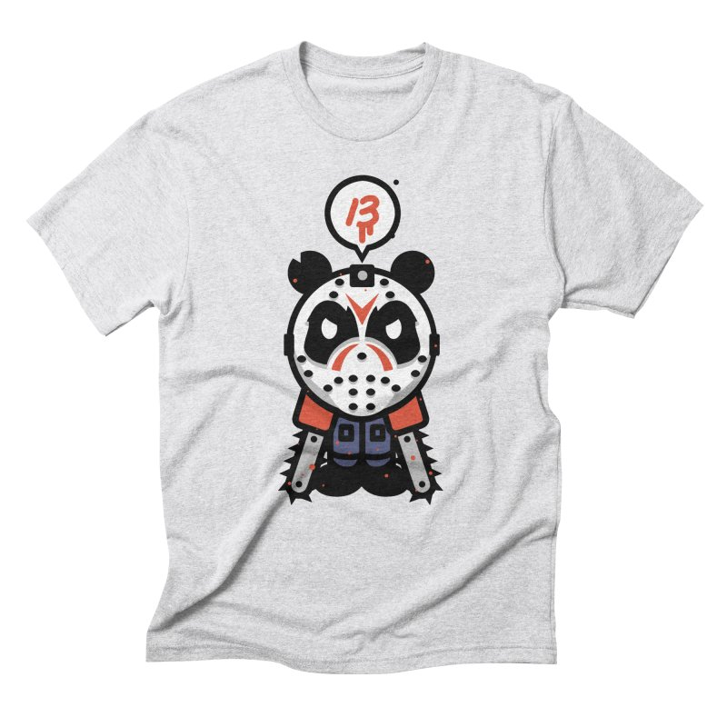 Chainsaw Panda Slasher Men's Triblend T-Shirt by pause's Artist Shop