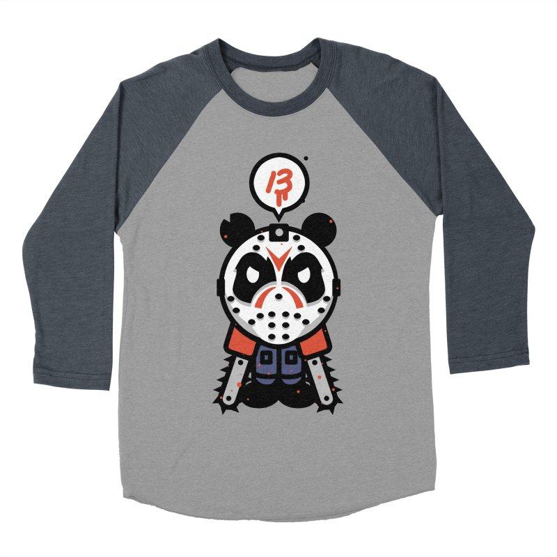Chainsaw Panda Slasher Men's Baseball Triblend T-Shirt by pause's Artist Shop