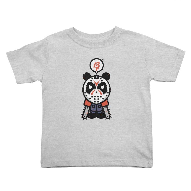 Chainsaw Panda Slasher Kids Toddler T-Shirt by pause's Artist Shop