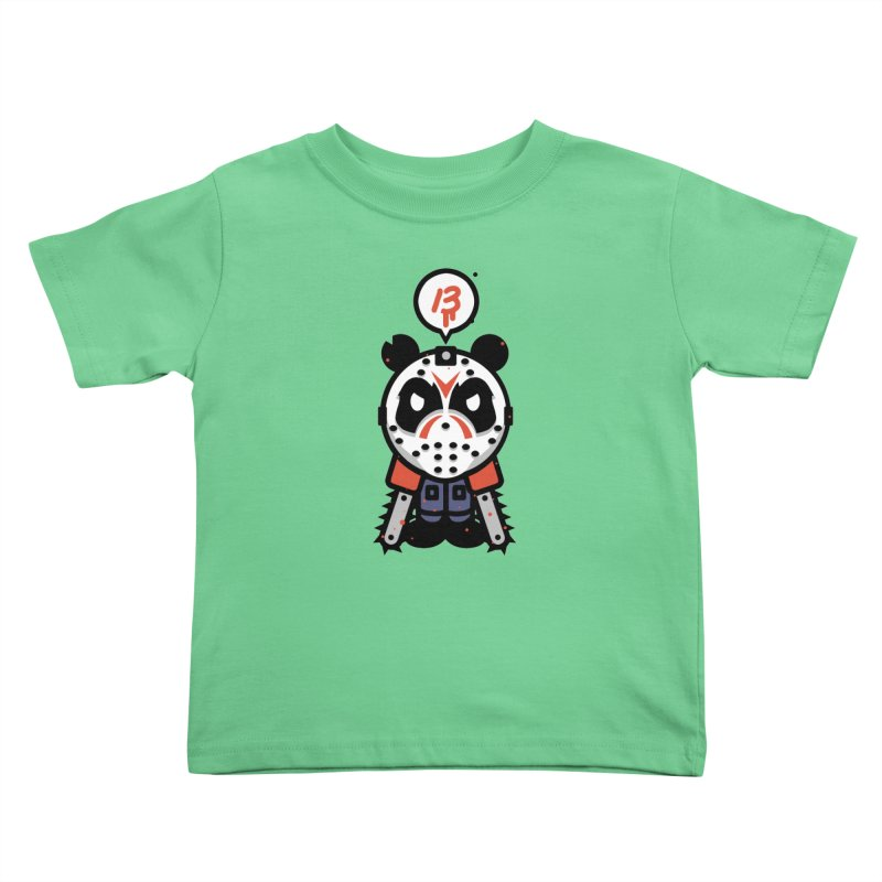 Chainsaw Panda Slasher Kids Toddler T-Shirt by pause's Artist Shop