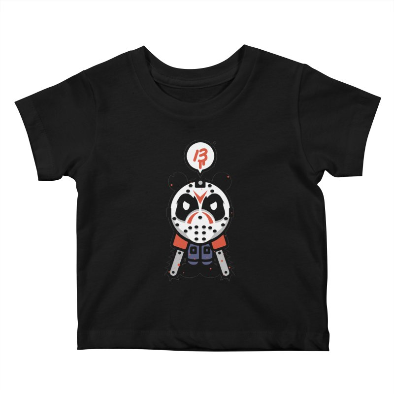 Chainsaw Panda Slasher Kids Baby T-Shirt by pause's Artist Shop