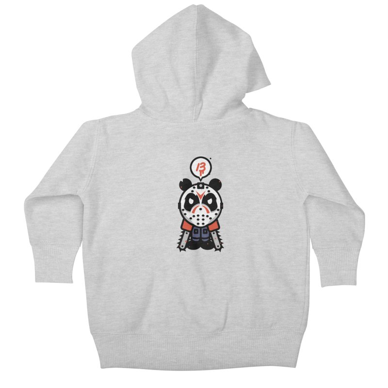 Chainsaw Panda Slasher Kids Baby Zip-Up Hoody by pause's Artist Shop
