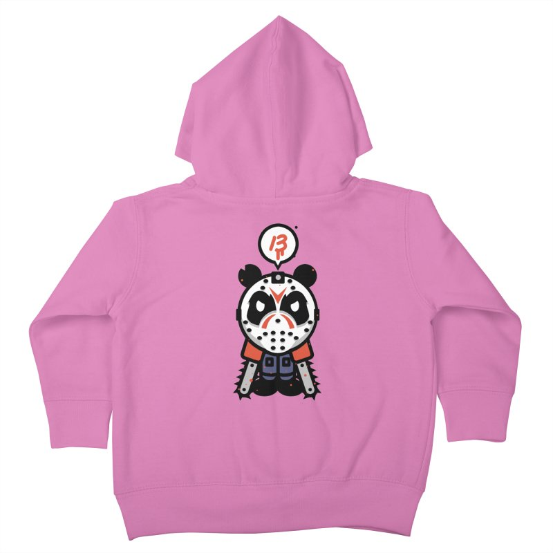 Chainsaw Panda Slasher Kids Toddler Zip-Up Hoody by pause's Artist Shop