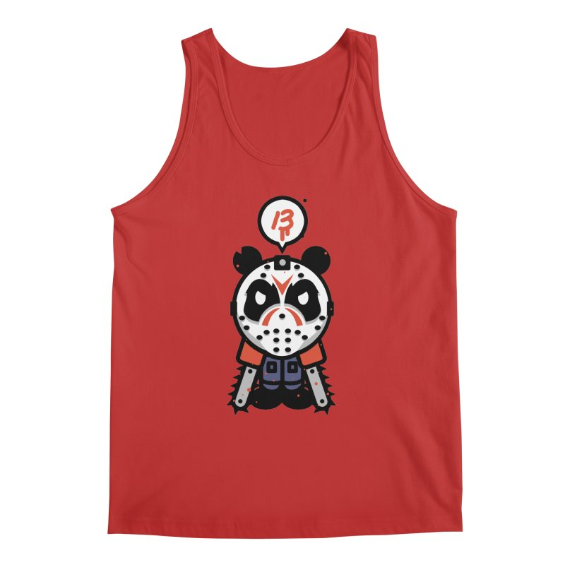 Chainsaw Panda Slasher Men's Tank by pause's Artist Shop