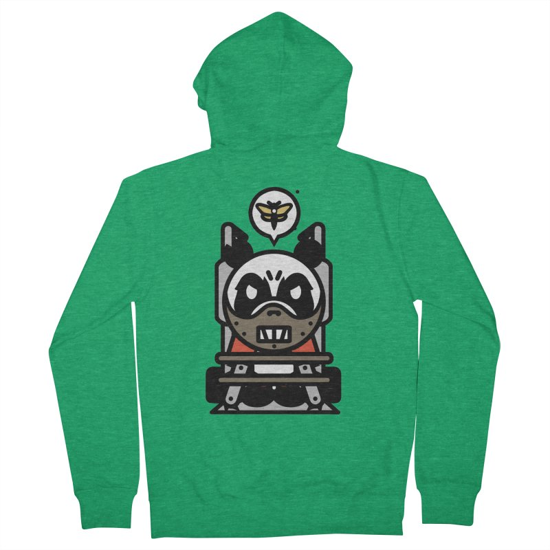 Chainsaw Panda Cannibal Women's Zip-Up Hoody by pause's Artist Shop