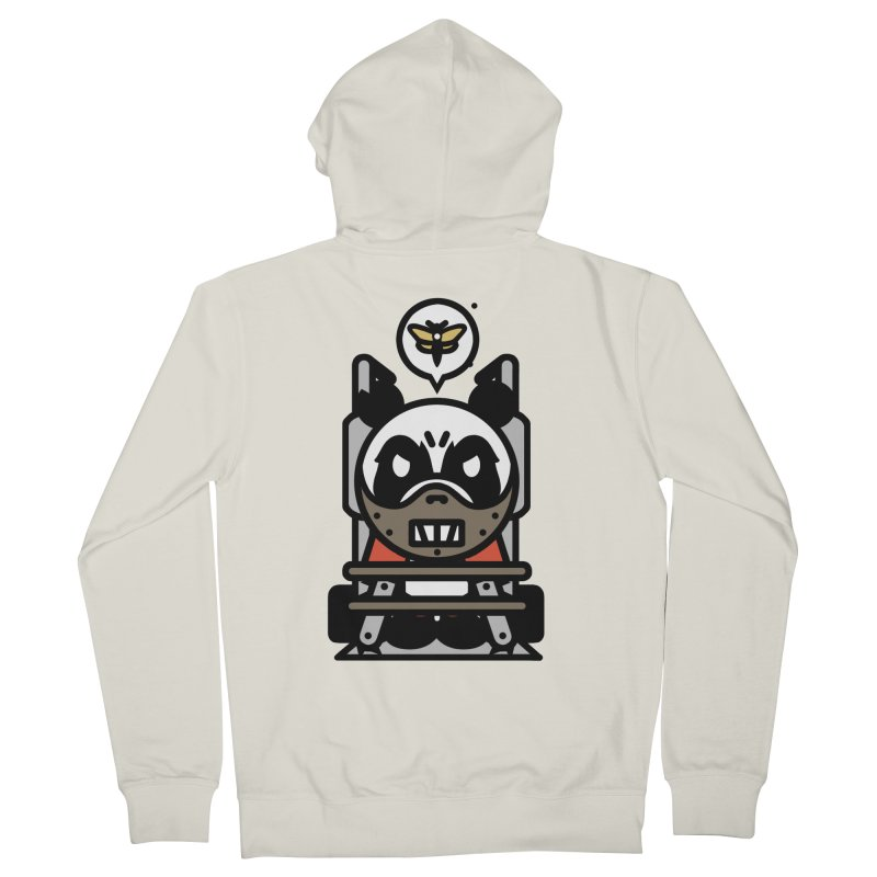 Chainsaw Panda Cannibal Men's Zip-Up Hoody by pause's Artist Shop