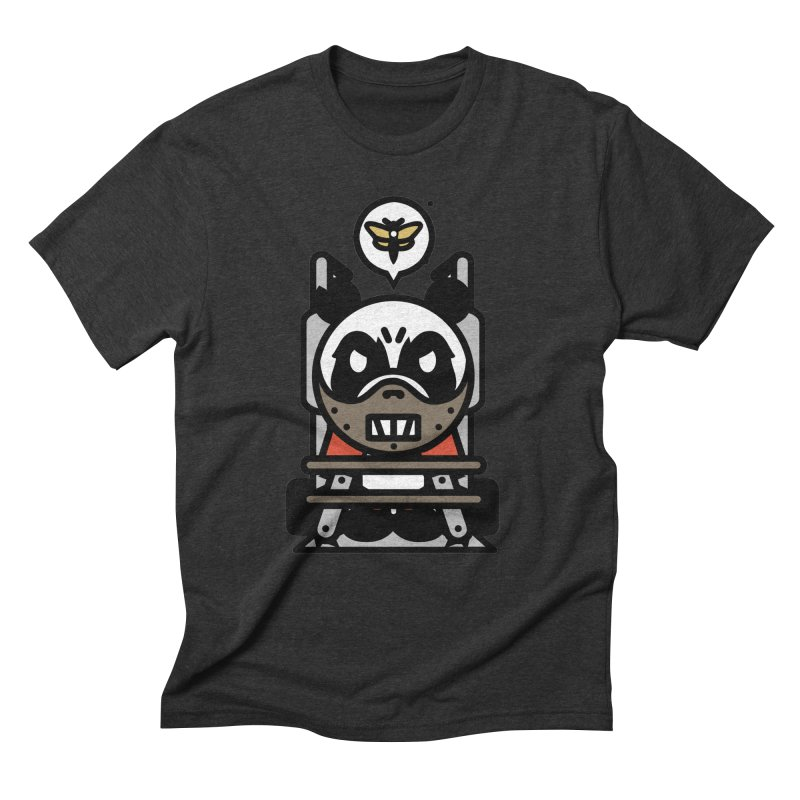 Chainsaw Panda Cannibal Men's Triblend T-Shirt by pause's Artist Shop