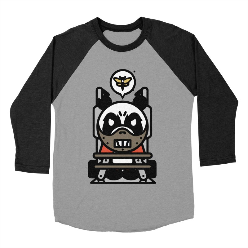 Chainsaw Panda Cannibal Men's Baseball Triblend T-Shirt by pause's Artist Shop