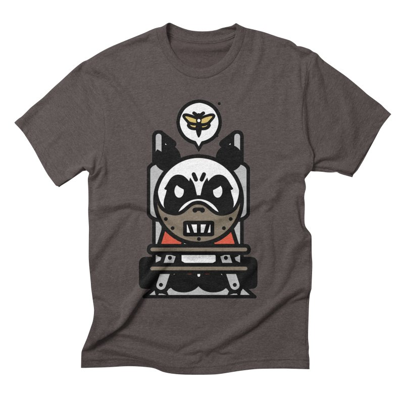 Chainsaw Panda Cannibal Men's Triblend T-shirt by pause's Artist Shop