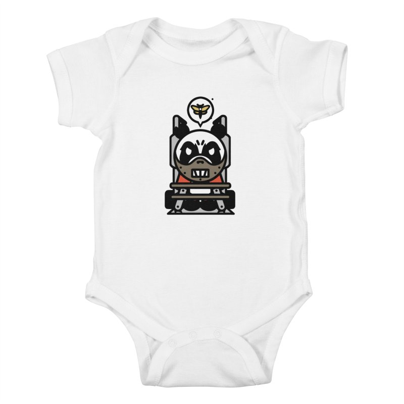 Chainsaw Panda Cannibal Kids Baby Bodysuit by pause's Artist Shop