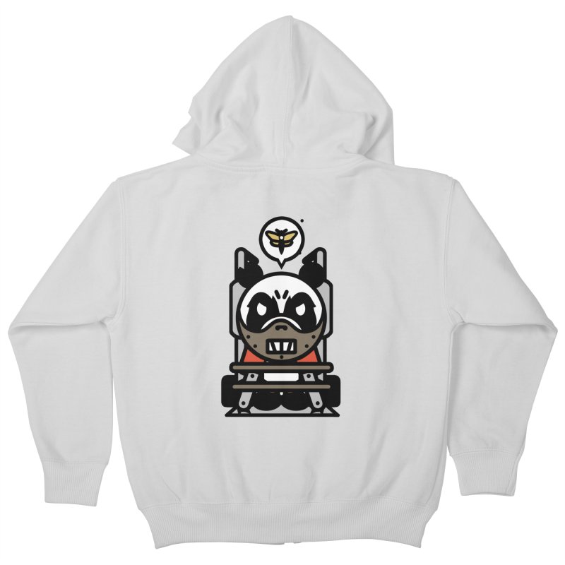 Chainsaw Panda Cannibal Kids Zip-Up Hoody by pause's Artist Shop